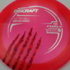 Force - Paul McBeth - 5x Signature Series Claw - pink - silver - red-fracture - 173-175g - 175-9g - pretty-domey - somewhat-stiff