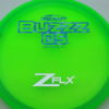 Buzzz OS - green - z-flx - blue-stripes - silver - 177g-2 - 178-9g - super-flat - pretty-gummy