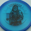 Star Wars - Discraft - zone - blue - z-line - black - 304 - 173-175g - 175-3g - pretty-flat - somewhat-stiff