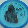 Star Wars - Discraft - zone - blue - z-line - black - 304 - 173-175g - 174-7g - pretty-flat - neutral