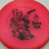 Star Wars - Discraft - zone - redpink - z-line - black - 304 - 170-172g - 172-0g - somewhat-domey - neutral