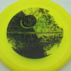 Star Wars - Discraft - zone - yellow - z-line - black - 304 - 173-175g - 175-3g - super-flat - neutral