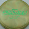 Stalker - Titanium Swirl - Ledgestone - Paige Pierce - green - 173-175g - 174-7g - neutral - somewhat-stiff