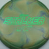 Stalker - Titanium Swirl - Ledgestone - Paige Pierce - green - 173-175g - 174-3g - neutral - somewhat-stiff
