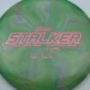 Stalker - Titanium Swirl - Ledgestone - Paige Pierce - pink-hexagons - 175-176g - 175-6g - neutral - somewhat-stiff
