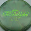 Stalker - Titanium Swirl - Ledgestone - Paige Pierce - green-lines - 175-176g - 176-0g - neutral - somewhat-stiff