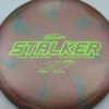 Stalker - Titanium Swirl - Ledgestone - Paige Pierce - green-lines - 175-176g - 176-9g - neutral - somewhat-stiff