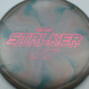 Stalker - Titanium Swirl - Ledgestone - Paige Pierce - pink-hexagons - 175-176g - 176-7g - neutral - somewhat-stiff