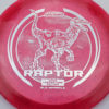 Raptor - Glo Sparkle - Ledgestone - redpink - silver-dots-small - 173-175g - 173-9g - neutral - pretty-stiff