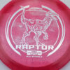 Raptor - Glo Sparkle - Ledgestone - redpink - silver-dots-small - 173-175g - 173-7g - neutral - pretty-stiff