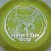 Raptor - Glo Sparkle - Ledgestone - yellowgreen - silver-dots-small - 173-175g - 174-8g - neutral - pretty-stiff