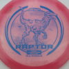 Raptor - Glo Sparkle - Ledgestone - pink - light-blue - 173-175g - 174-9g - neutral - pretty-stiff