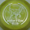 Raptor - Glo Sparkle - Ledgestone - yellowgreen - silver-dots-small - 173-175g - 174-3g - neutral - pretty-stiff