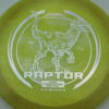 Raptor - Glo Sparkle - Ledgestone - yelloworange - silver-dots-small - 173-175g - 174-5g - neutral - pretty-stiff