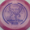 Raptor - Glo Sparkle - Ledgestone - pink - dark-blue - 173-175g - 174-3g - neutral - pretty-stiff