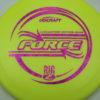 Force - Big Z - Ledgestone - yellow - fuchsia-fracture - 173-175g - 175-3g - somewhat-domey - pretty-stiff