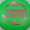 Force - Big Z - Ledgestone - green - pink-hexagons - 173-175g - 175-7g - pretty-domey - pretty-stiff