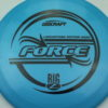 Force - Big Z - Ledgestone - blue - black - 173-175g - 174-9g - pretty-domey - pretty-stiff