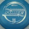 Force - Big Z - Ledgestone - blue - silver-circles - 173-175g - 174-8g - pretty-domey - pretty-stiff