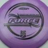 Force - Big Z - Ledgestone - purple - black - 173-175g - 176-2g - pretty-domey - somewhat-stiff