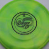 Banger GT - Titanium Swirly - Ledgestone - black - 170-172g - 171-4g - super-flat - somewhat-stiff