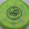 Banger GT - Titanium Swirly - Ledgestone - black - 173-175g - 173-6g - super-flat - somewhat-stiff