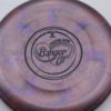 Banger GT - Titanium Swirly - Ledgestone - black - 173-175g - 174-2g - super-flat - somewhat-stiff
