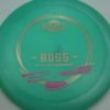 Boss - Glow Champion - Alex Russell - glow-blue - gold - pink - 175g - 174-9g - somewhat-domey - somewhat-stiff