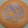 Shryke - Glow Champion - Karina Nowels - glow-orange - light-purple - gold - 175g - 175-6g - somewhat-domey - somewhat-stiff