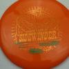 Sidewinder - Star - Andrew Marwede - orange - bronze - green - 175g - 174-7g - pretty-domey - somewhat-stiff