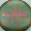Stalker - Titanium Swirl - Ledgestone - Paige Pierce - pink-hexagons - 175-176g - 177-2g - neutral - somewhat-stiff