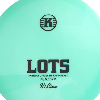 Kastaplast Lots in the signature aqua color!