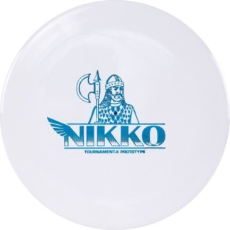 Westside Discs Nikko Gatekeeper in Tournament-X plastic. The Nikko Locastro Gatekeeper is in the stiffer plastic.