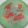 DD3 - Swirly S-Line - Eagle McMahon Cloud Breaker - red - 175g - 176-2g - pretty-domey - somewhat-stiff