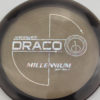 Draco - smoke - quantum - silver-fracture - 175g - 175-0g - somewhat-flat - somewhat-stiff