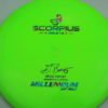 Scorpius - Sirius - Gregg Barsby 2018 World Champion - light-green - sirius - acid-party-time - 162g - 163-6g - neutral - somewhat-stiff