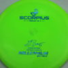 Scorpius - Sirius - Gregg Barsby 2018 World Champion - light-green - sirius - blue-fracture - 152g - 152-6g - neutral - somewhat-stiff