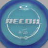 Albert Tamm Opto-X Recoil - blue - silver - 166g - 167-0g - somewhat-domey - somewhat-stiff