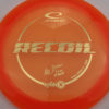 Albert Tamm Opto-X Recoil - orange - gold - 176g - 175-8g - neutral - somewhat-stiff