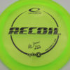 Albert Tamm Opto-X Recoil - yellowgreen - black - 173g - 174-5g - somewhat-domey - somewhat-stiff