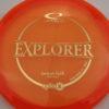 Emerson Keith Opto-X Explorer - orange - gold - 173g - 174-2g - pretty-flat - somewhat-stiff