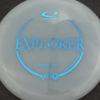 Emerson Keith Opto-X Explorer - white - blue - 173g - 174-6g - pretty-flat - somewhat-stiff
