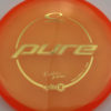 Kristin Tattar Opto-X Pure - orange - gold - 174g - 175-4g - super-flat - somewhat-stiff