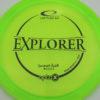 Emerson Keith Opto-X Explorer - yellowgreen - black - 175g - 176-9g - pretty-flat - somewhat-stiff