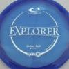 Emerson Keith Opto-X Explorer - blue - silver - 176g - 175-9g - pretty-flat - somewhat-stiff