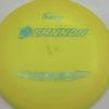 Ultralight Cannon - yelloworange - ultralight - teal-w-genuine-text - 136g - 137-0g - somewhat-domey - pretty-stiff
