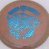 CD2 - Swirly S Line - Dana Vicich Roaming Thunder 2 - blue - 175g - 175-2g - somewhat-domey - somewhat-gummy