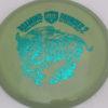 CD2 - Swirly S Line - Dana Vicich Roaming Thunder 2 - teal - 175g - 176-3g - pretty-domey - neutral