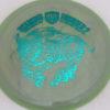 CD2 - Swirly S Line - Dana Vicich Roaming Thunder 2 - teal - 175g - 176-4g - pretty-domey - neutral