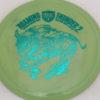 CD2 - Swirly S Line - Dana Vicich Roaming Thunder 2 - teal - 175g - 177-1g - pretty-domey - neutral